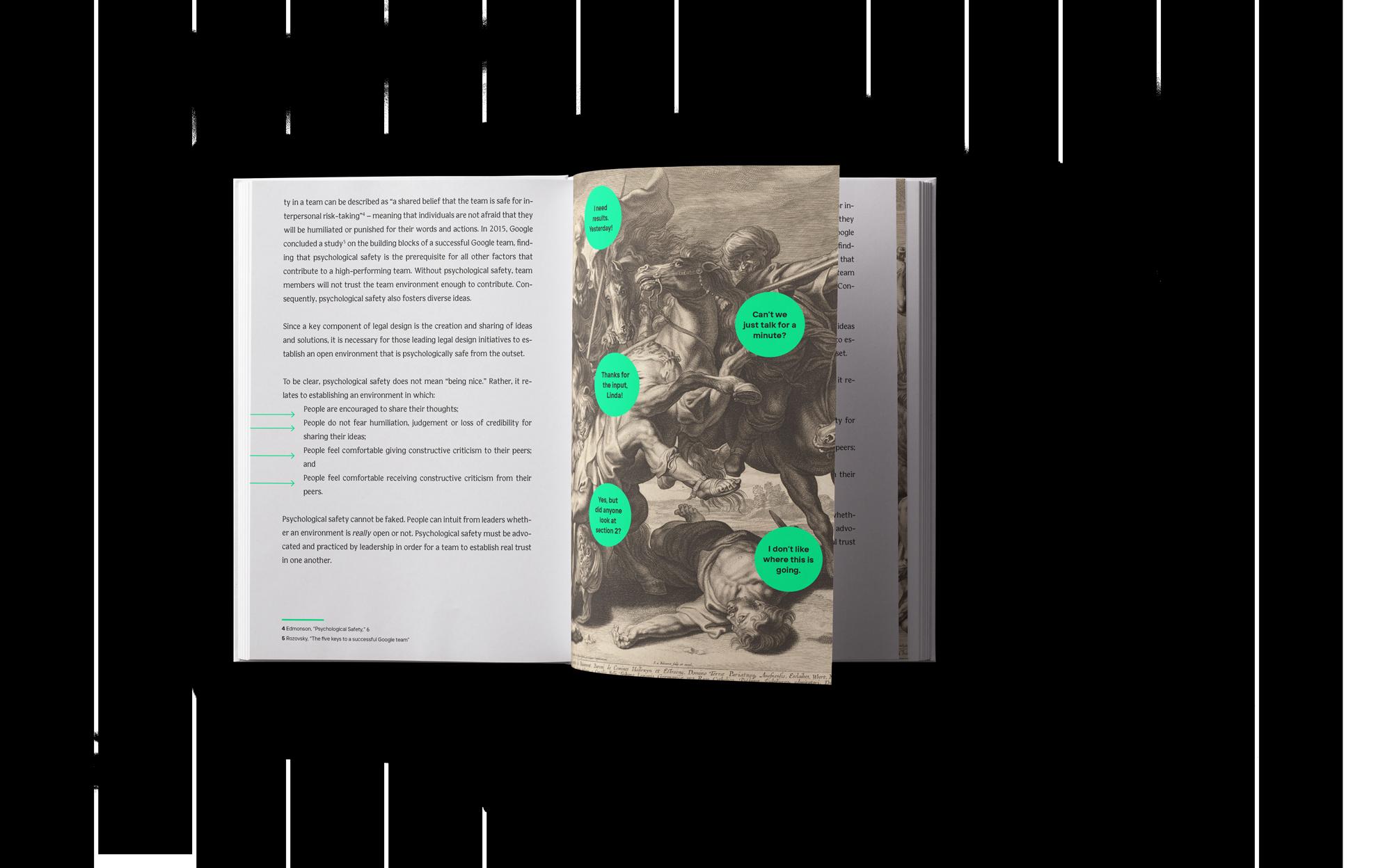 The Legal Design Book interior teaser image